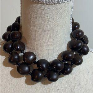 Jewelry - Hawaiian Beaded Brown Necklace!